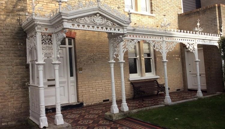 Cranborne House and its beautiful veranda