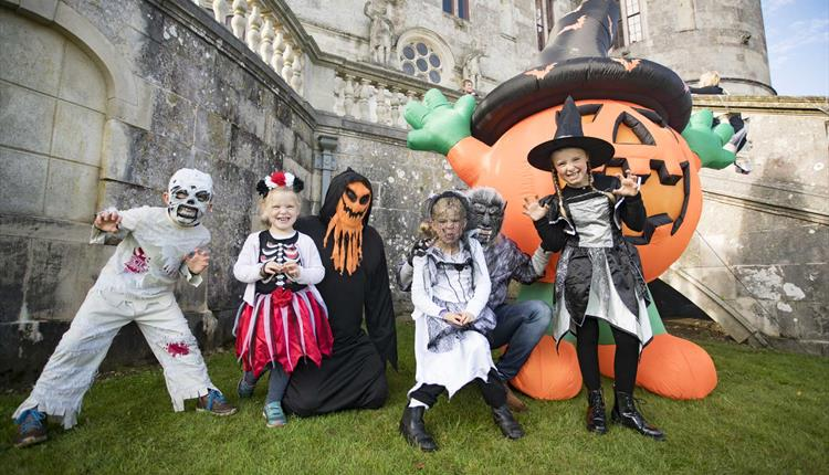 Spooky Fun at Lulworth Castle 2019