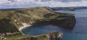 Explore the area surrounding Poole. Image: Lulworth |