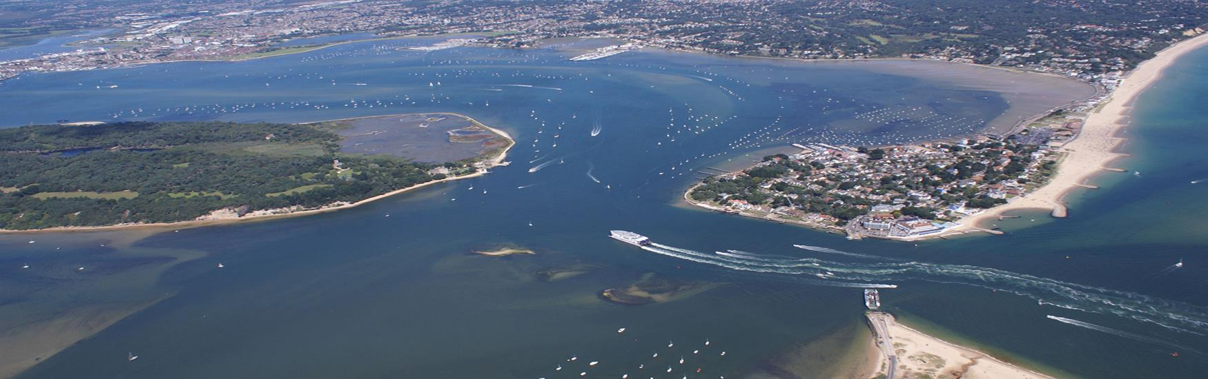 Entrance to Poole Harbour