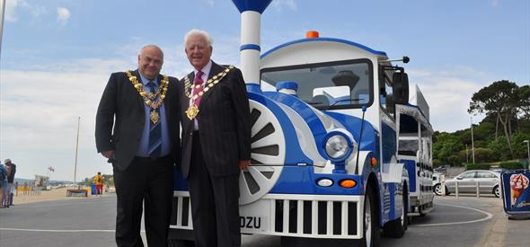 Celebration of Land train Extension into Poole