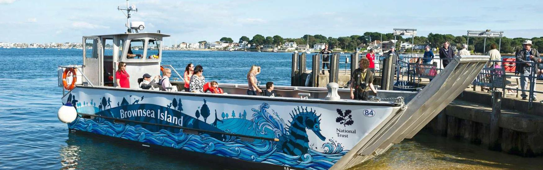 NT Brownsea Seahorse giving wheelchair access to the island