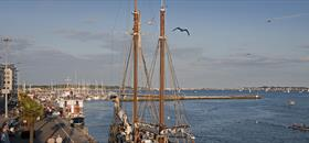 Poole Quay Tall Ship |