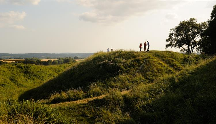 Guided walk: Badbury Rings and Kings Down Drove