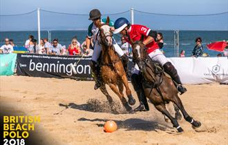 British Beach Polo Championships Sandbanks Poole