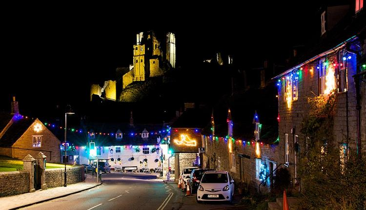 Christmas at Corfe Castle