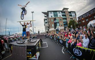 Action Sports Tour at Rocleys Summer Spectacular with Fireworks in Poole