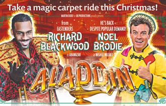Aladdin marketing Christmas 2019 Bournemouth pavilion
