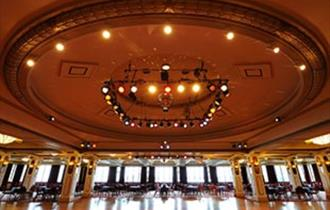 The Pavilion Ballroom where they perform