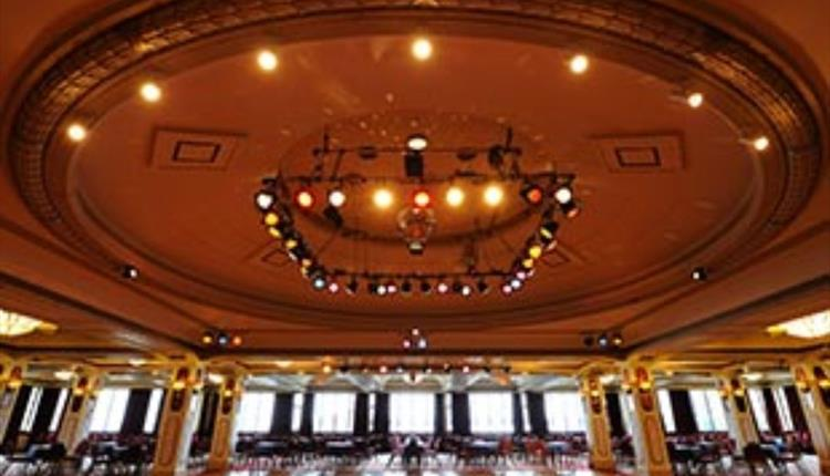 Ballroom where they will celebrate and perform