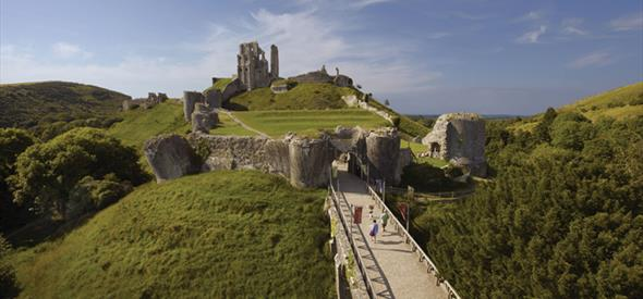 Corfe Castle National Trust