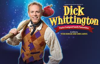 Dick Whittington with Chris Jarvis at the Lighthouse