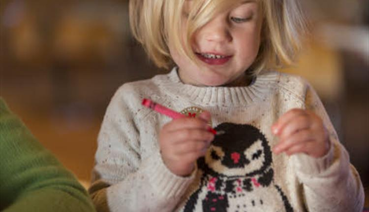 Christmas Crafts at Corfe Castle