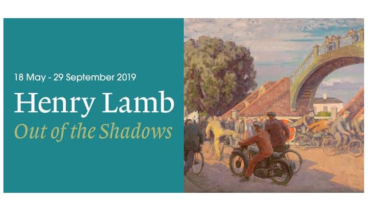 Dementia friendly tour of Henry Lamb Out of the Shadows exhibition at Poole Museum.