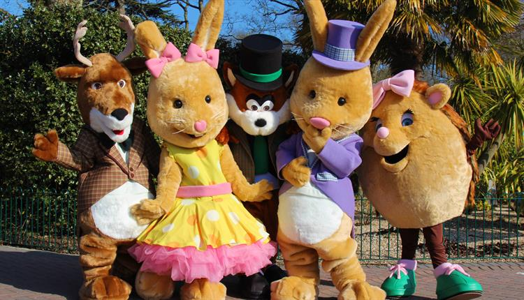 Hoppy Easter at Paultons Park