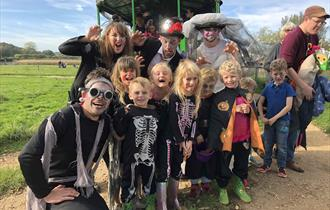 Fang-tastic Halloween Half Term Events Farmer Palmer's Farm Park