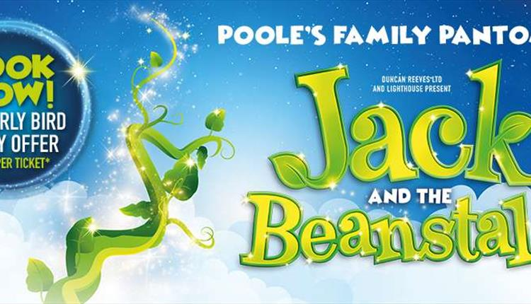 Jack and The Beanstalk, Poole's Family Pantomime poster