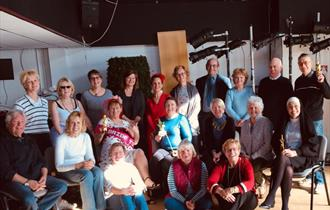 A group photo Just For Laughs – Adult Beginners Drama Classes
