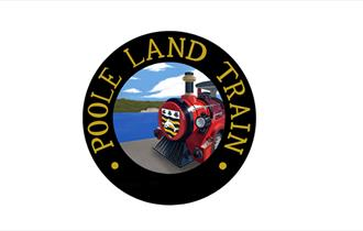 Poole Land Train circular badge