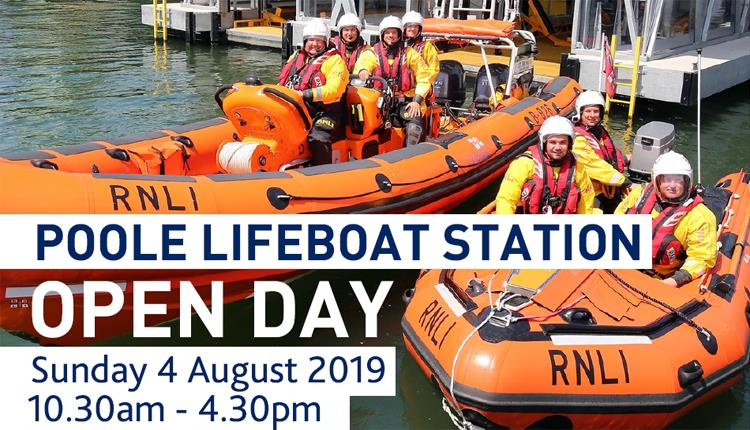 Poole Lifeboat Station Open Day 4th August 2019
