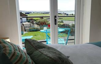 Sandbanks View - Bedroom