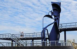 Sea Music Sculpture Poole Quay