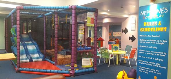 Soft play at Neptunes Funplex