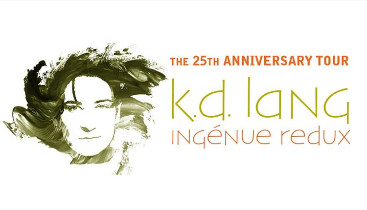 k.d. lang 'Ingénue Redux' - 25th Anniversary Tour