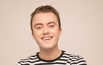 Comedian Tom Lucy as part of the coastal comedy shows in Poole