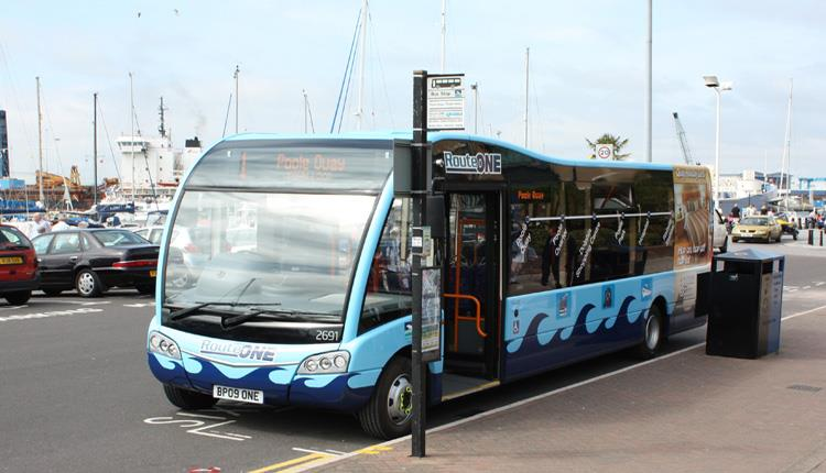 Travelwise Route One, Poole Quay